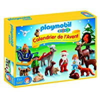 Playmobil 5497 - Calendario dell'Avvento, Natale nella Foresta, Multicolore