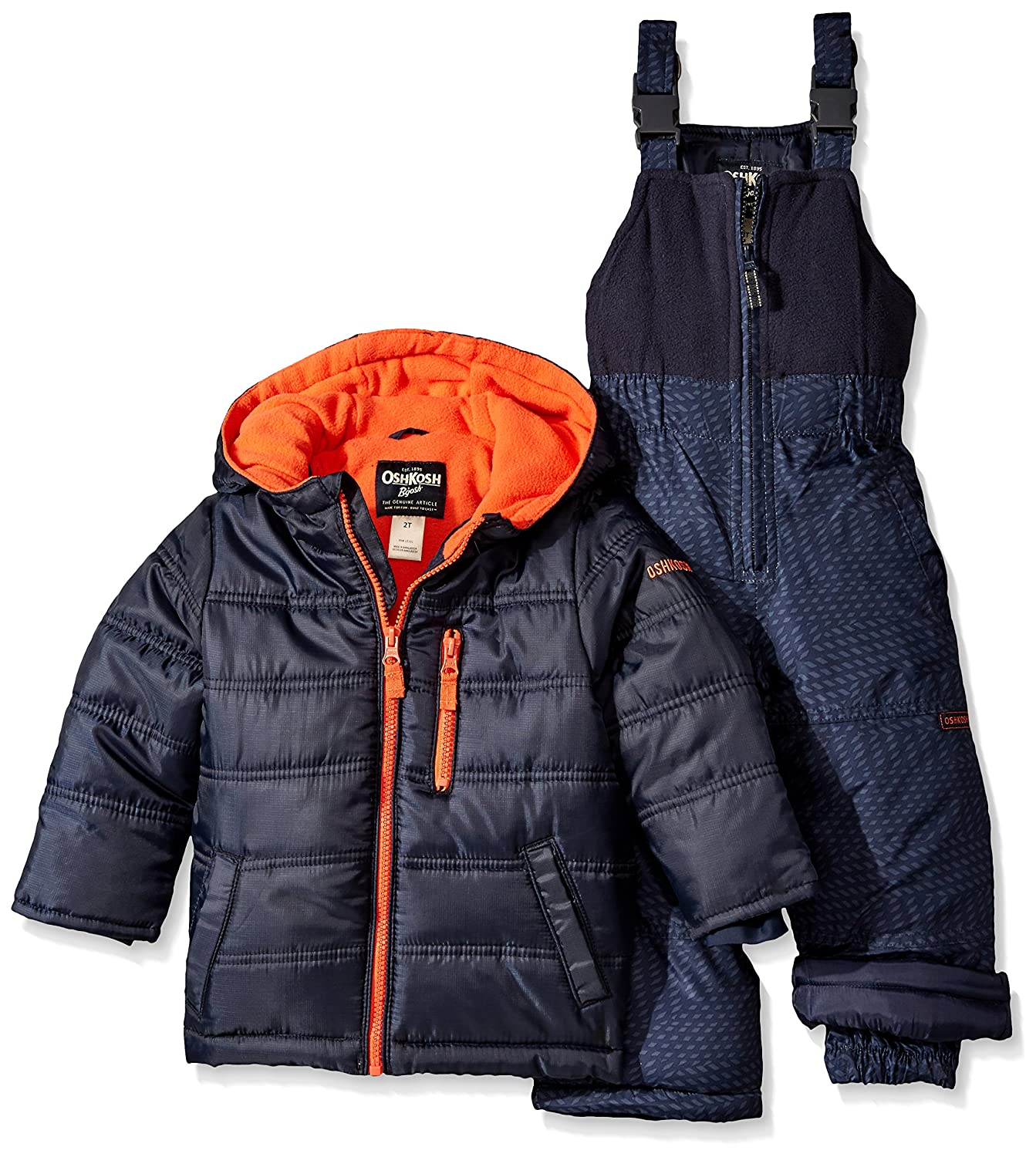 OshKosh Boys Snowsuit with Puffer Coat Navy 4 B2158S93