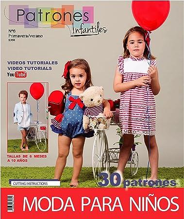Zeitschrift Schnittmuster Kinder, Nr. 6. Mode Sommer, 30 Modelle ...
