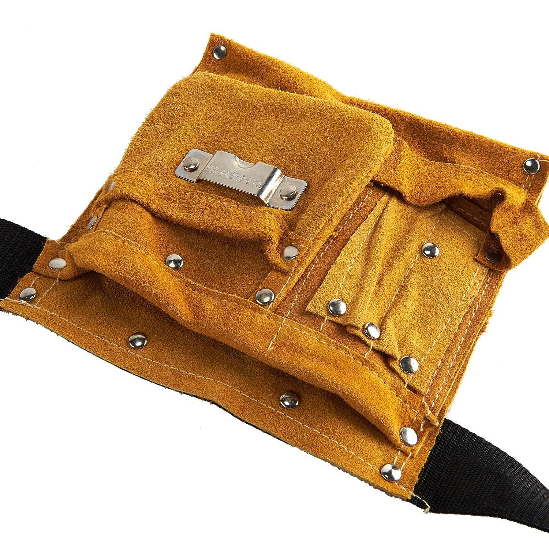 Bolso porta herramientas Bolso Soldador Herramienta Cinturón Bolsillo de soldadura Bolso Seguridad Herramienta Portátil Ajustable: Amazon.es: Deportes y ...