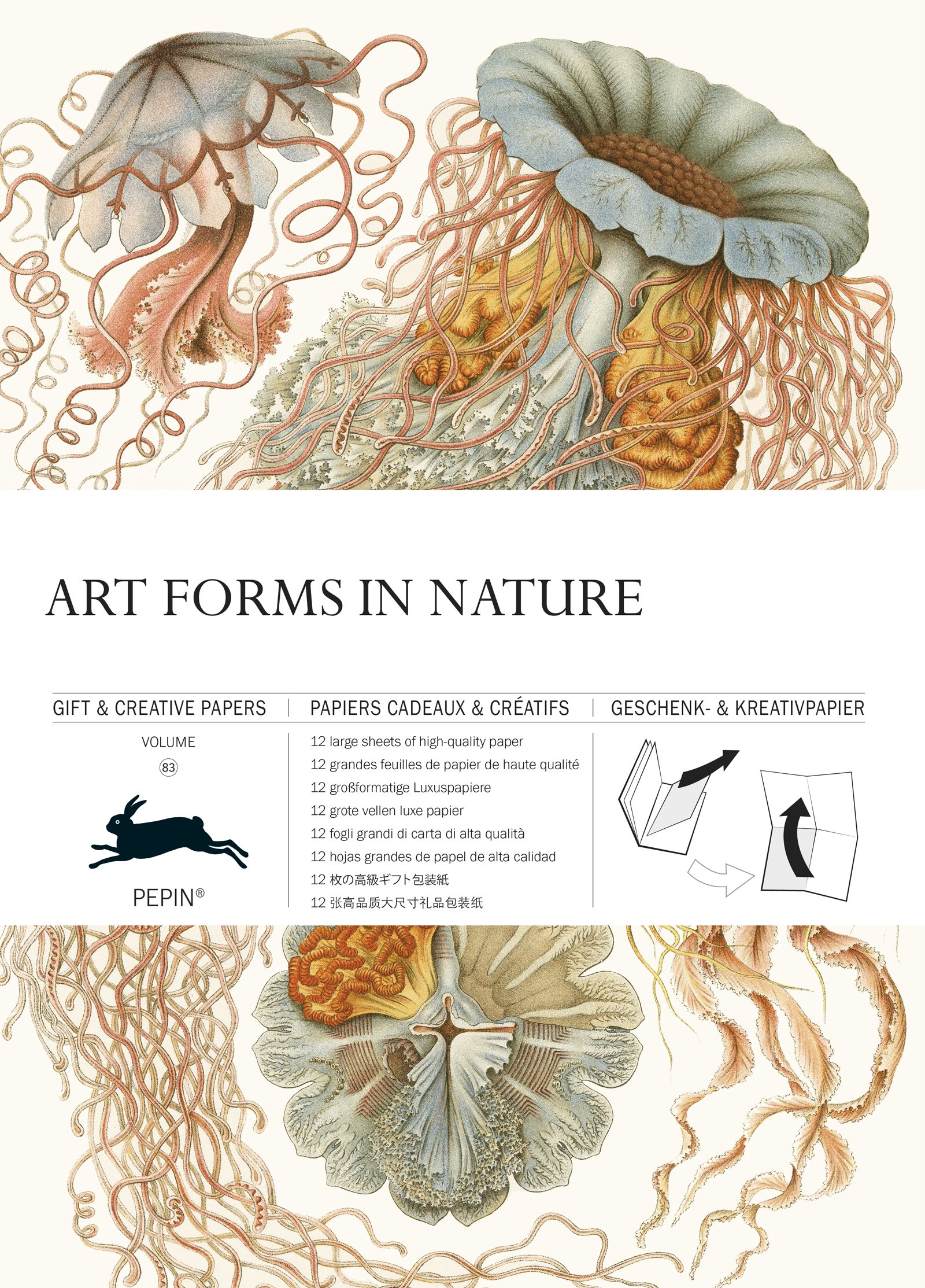 Art Forms in Nature: Gift & Creative Paper Book Vol. 83 (English, Spanish, French and German Edition) pdf
