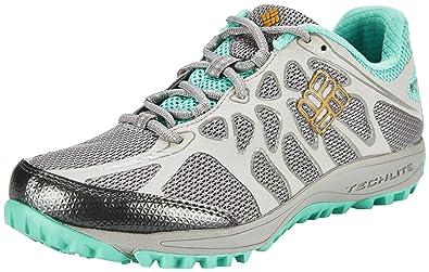 d169edca58 Columbia Damen Conspiracy Titanium Outdry Sneakers,Mehrfarbig (Light  Grey/Squash)-36