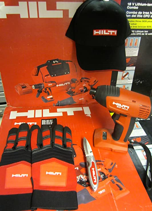 Amazon.com: HILTI Sid 144-A Taladro Atornillador de impacto ...