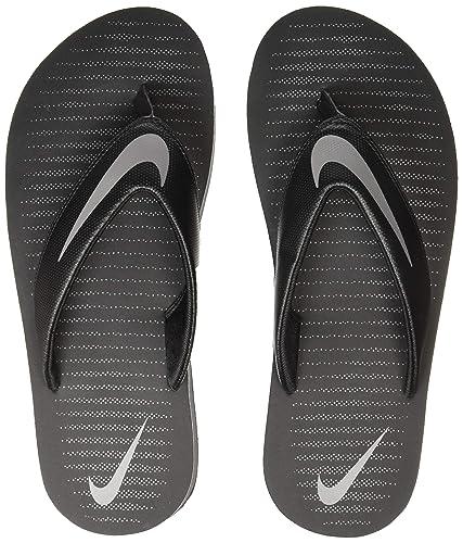 new arrival 92aab 176c4 Nike Men's Chroma Thong 5 Black Slippers (833808-016)