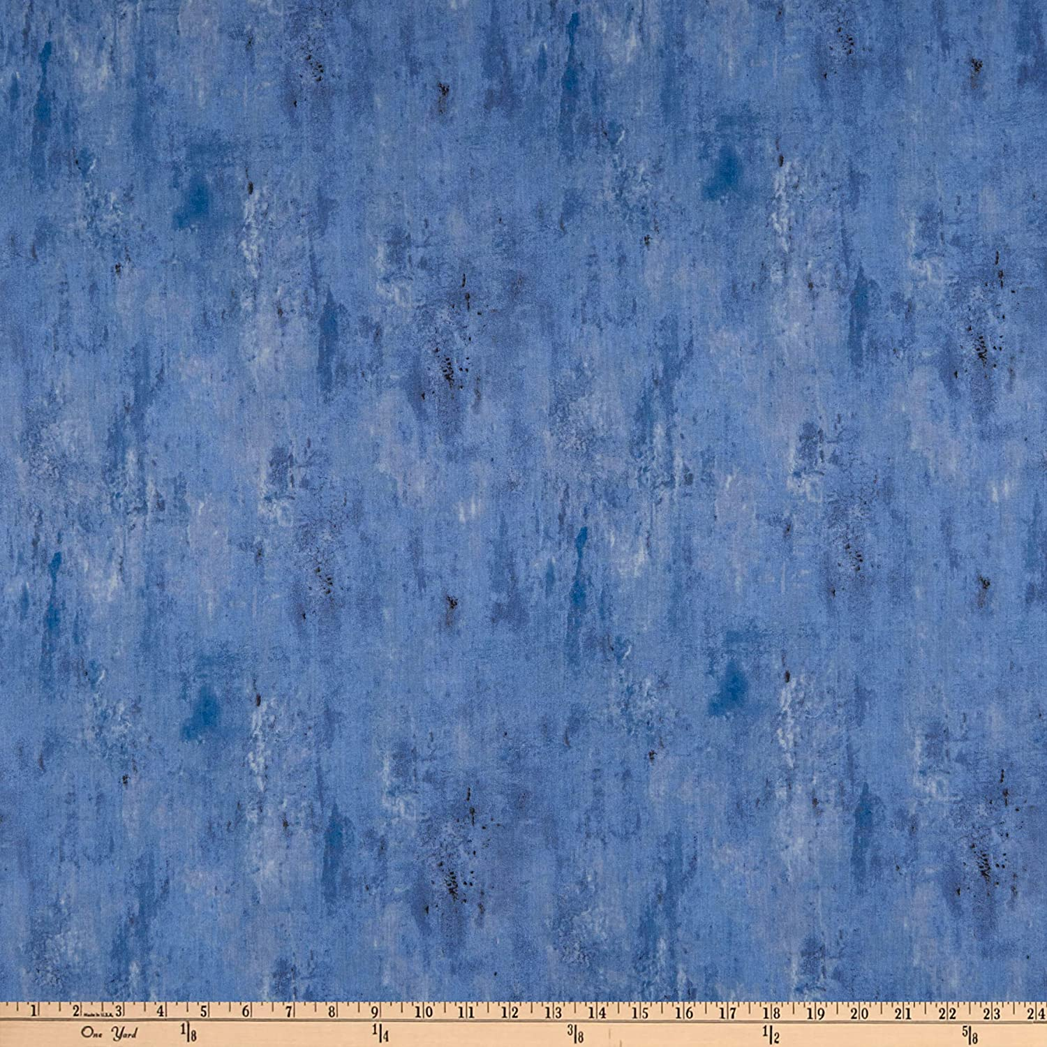 Wilmington Essentials Vintage Texture Denim Fabric by The Yard