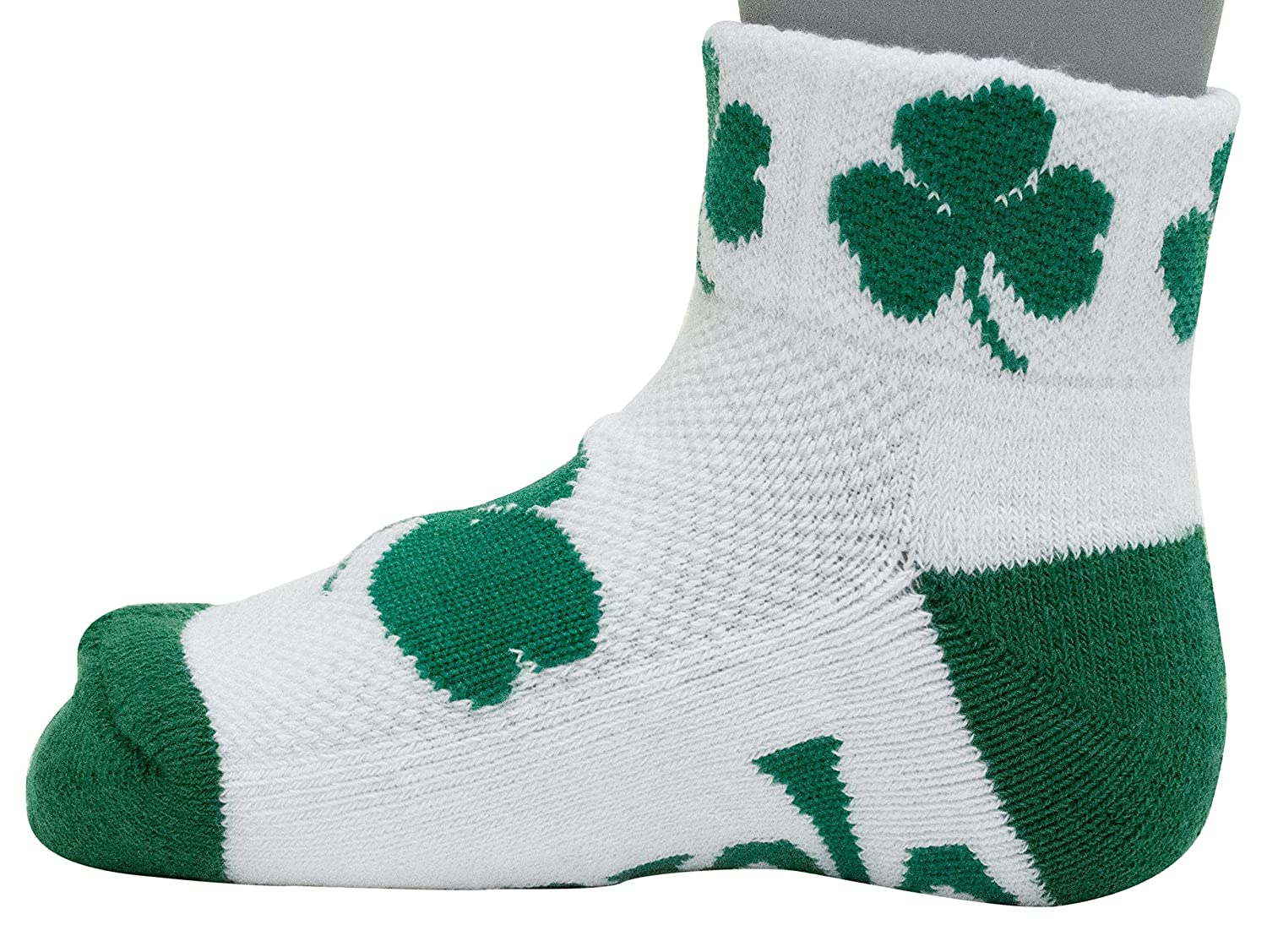 Donegal Bay NCAA Notre Dame Fighting Irish Youth QTR Socks Green 3 5 Years