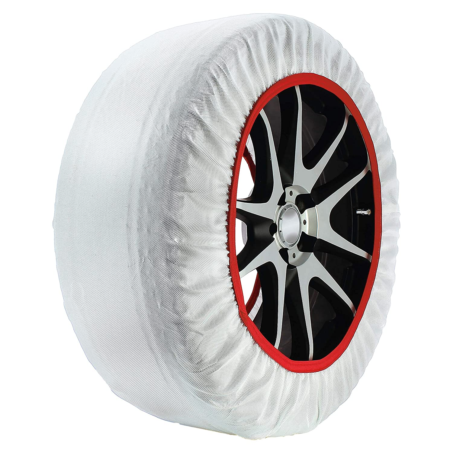 175//65 R14 Frost /& Snow Chain Socks for 14 Tyres Husky Sumex Textile Winter Car Wheel Ice