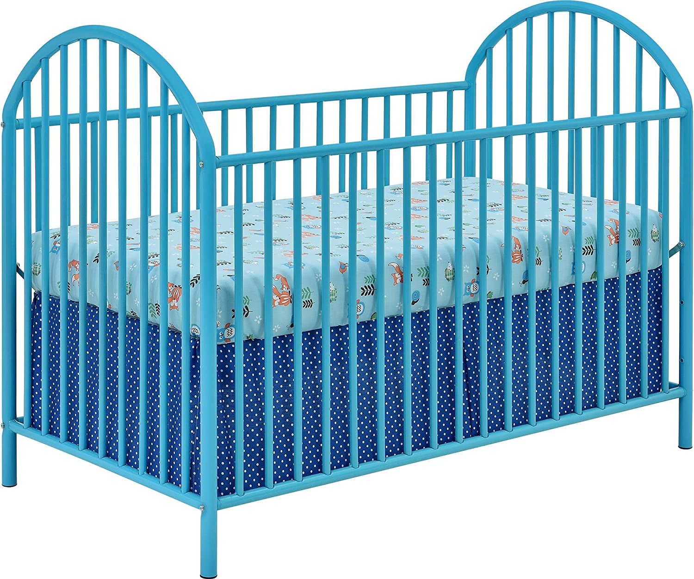- Amazon.com : Cosco Applegate Metal Crib, Light Blue : Baby