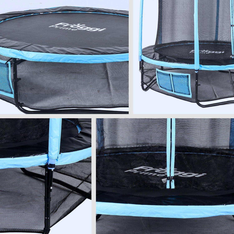 Trampoline dExt/érieur Sky 183 cm Charge Max 100 Kg Norme CE FROGGI XT-F0604YR