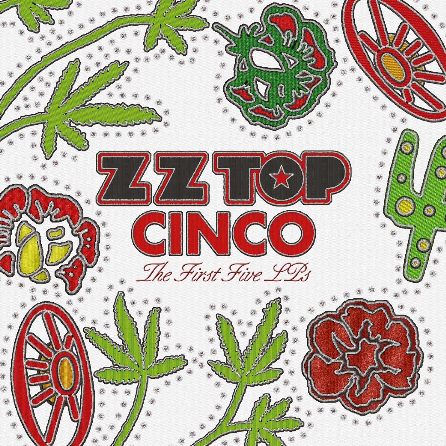 Vinilo : ZZ Top - Cinco: The First Five Lps (Oversize Item Split, 180 Gram Vinyl, Boxed Set, 5 Disc)