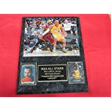 Kobe Bryant Los Angeles Lakers 2 Card Collector Plaque w//8x10 Five Time Championship Photo