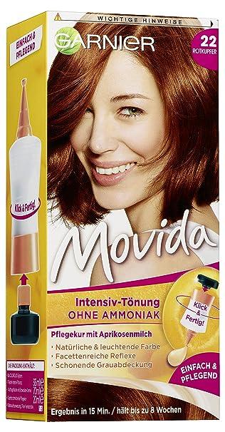 garnier tà nung movida pflege creme intensiv tà nung haarfarbe 22