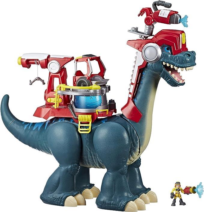Chomp Squad E0832EU4 Csq Blazeasaurus and Sparks Mckenzie, Multicolor: Amazon.es: Juguetes y juegos