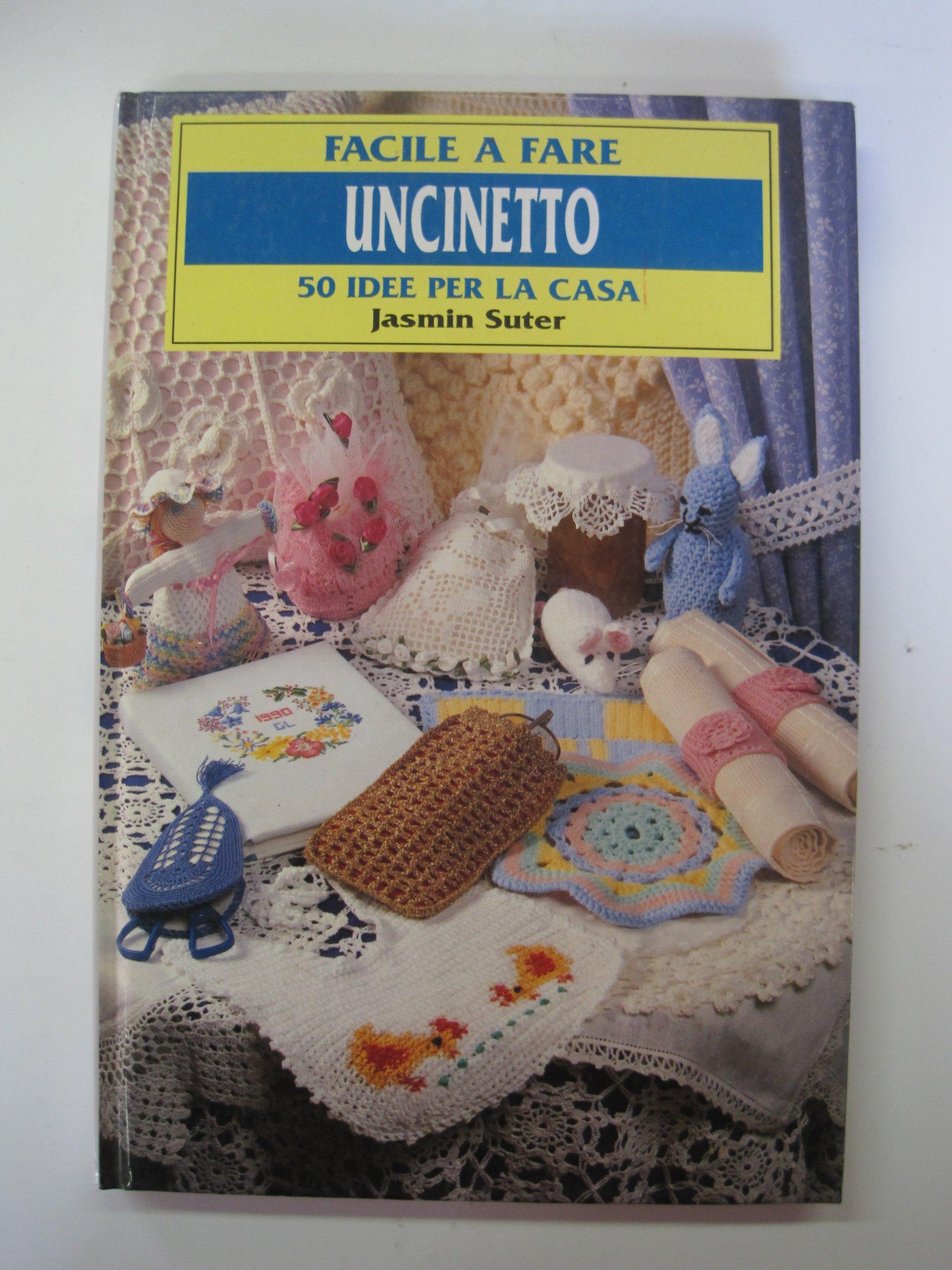Amazonit Uncinetto 50 Idee Per La Casa Jasmin Suter Libri