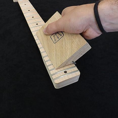 35/90 grados chaflán herramienta de roble Trastes – Guitarra Luthier