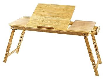 Tavoli Per Colazione A Letto : Lap desk ucharge portatile regolabile per scrivania tavolo