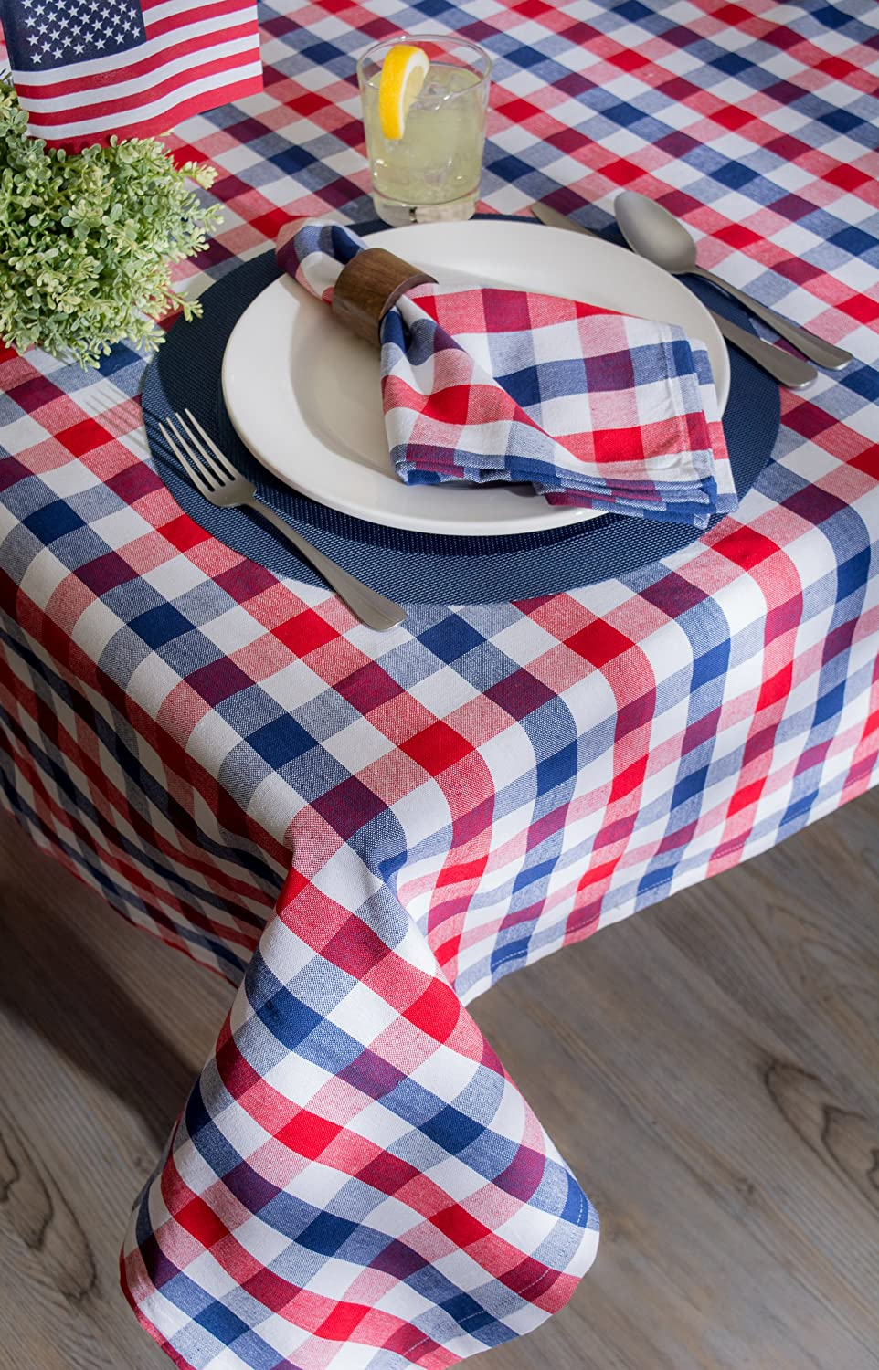 4th of July BBQ table clothe
