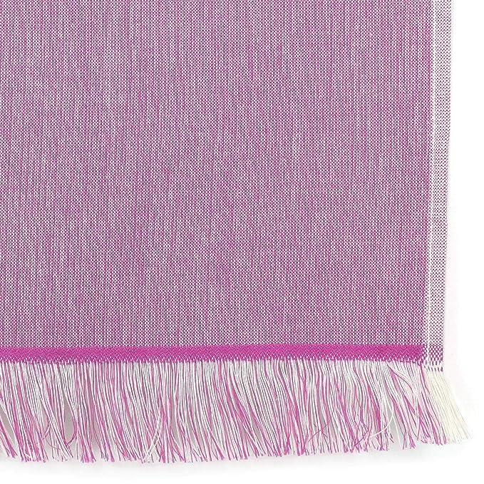 Fouta - Toalla de playa (100 x 180 cm, 100% algodón, 290 g/m² Rostock LILA: Amazon.es: Hogar