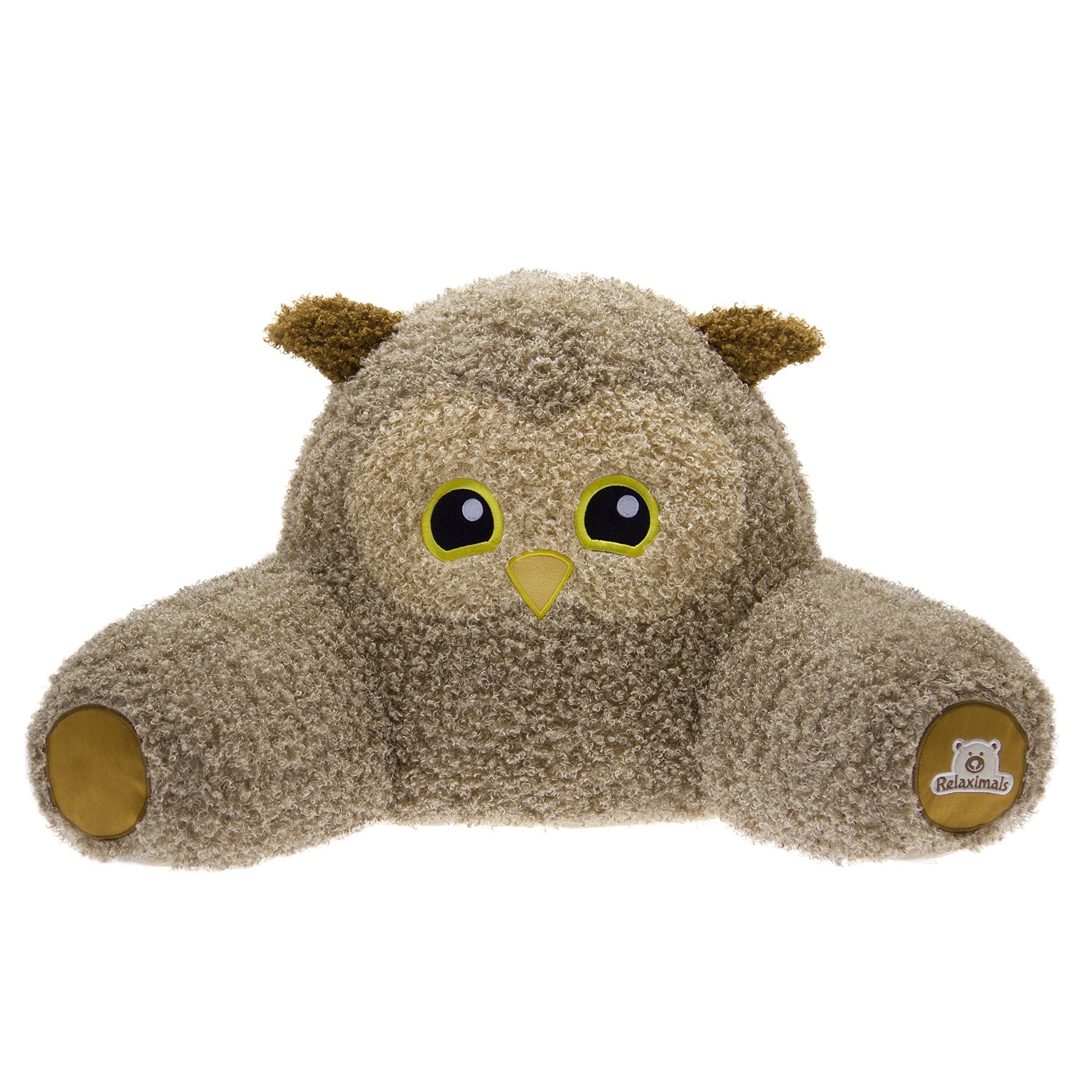 Relaximals Owl Kids Reading Pillow