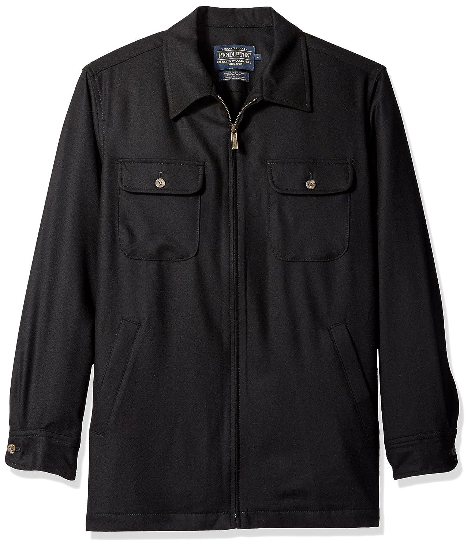 Pendleton SHIRT メンズ B01M63AVPC Medium|black flannel black flannel Medium
