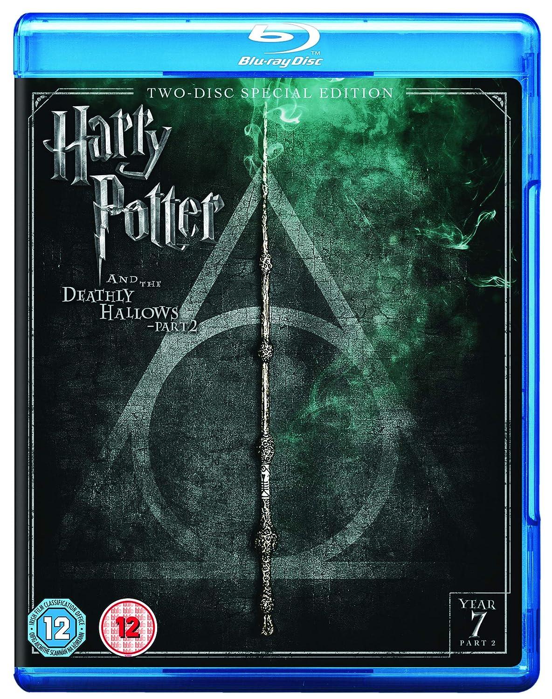 Harry Potter And The Deathly Hallows: Part 2 2 Blu-Ray Edizione: Regno Unito Reino Unido Blu-ray: Amazon.es: Cine y Series TV
