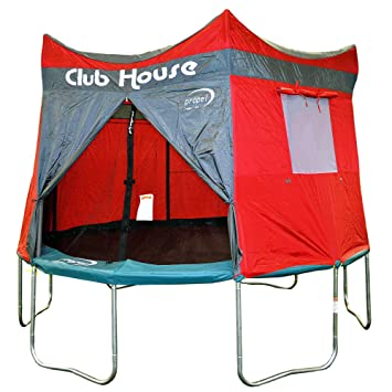Clubhouse Tent Accessory Kit for Propel 12u0027 Tr&oline with 6 pole enclosure - TENT ONLY  sc 1 st  Amazon.com : trampoline with tent enclosure - memphite.com