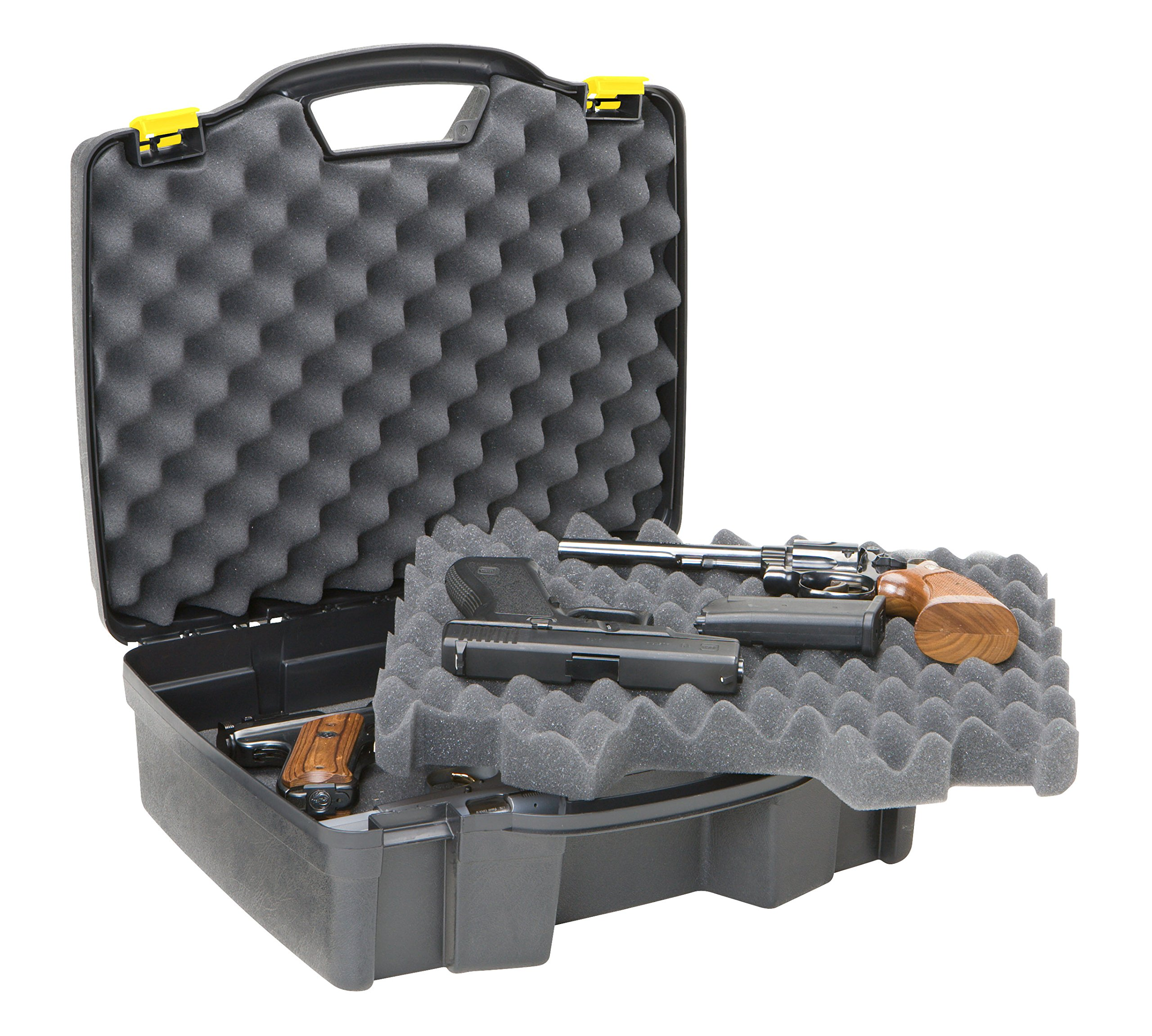 Plano 1404 Protector Series Four Pistol Case, X-Large, Black