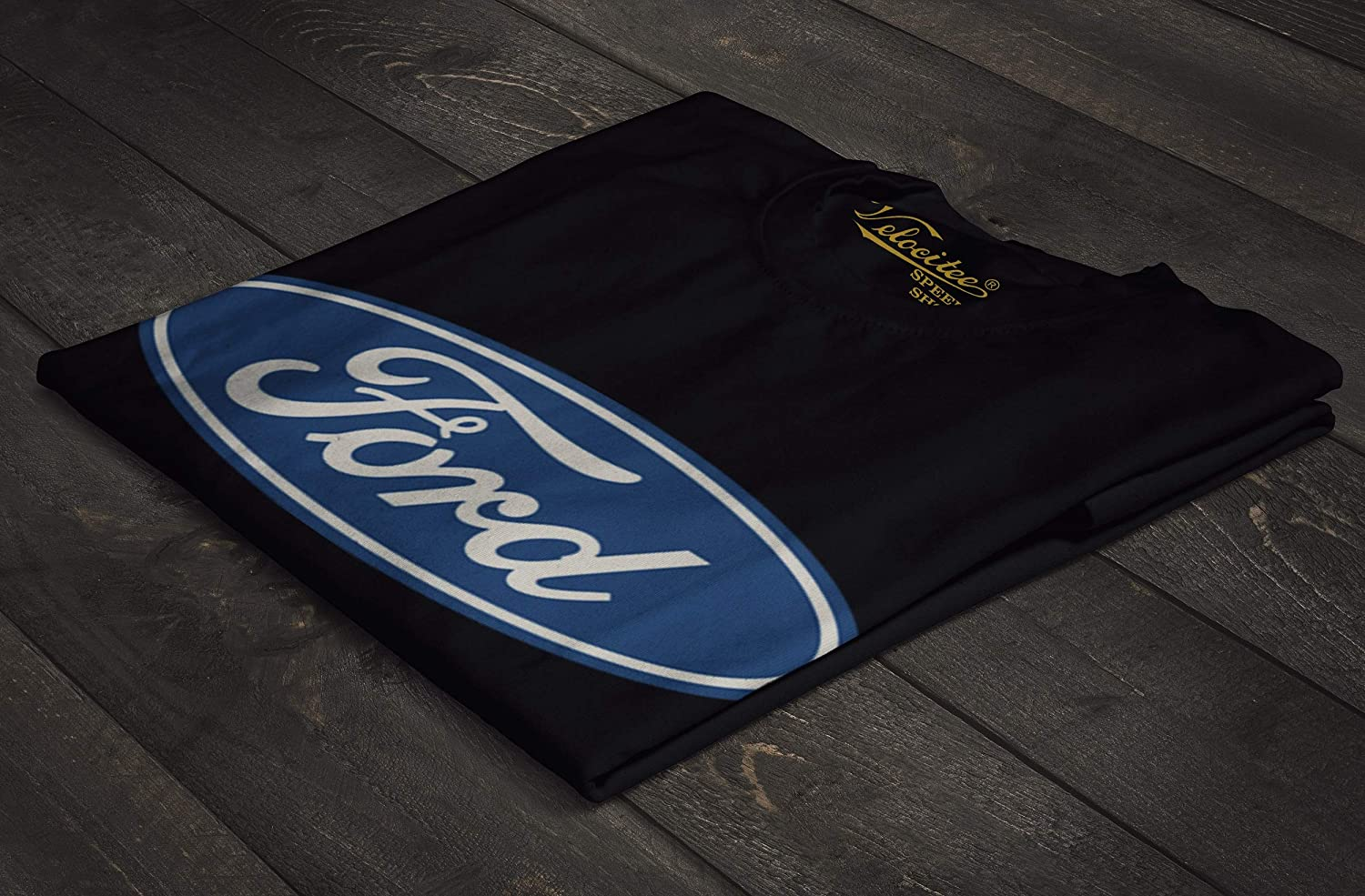 Velocitee Mens Vest Genuine Licensed Ford Parts Logo Muscle Cars /& Trucks A21281