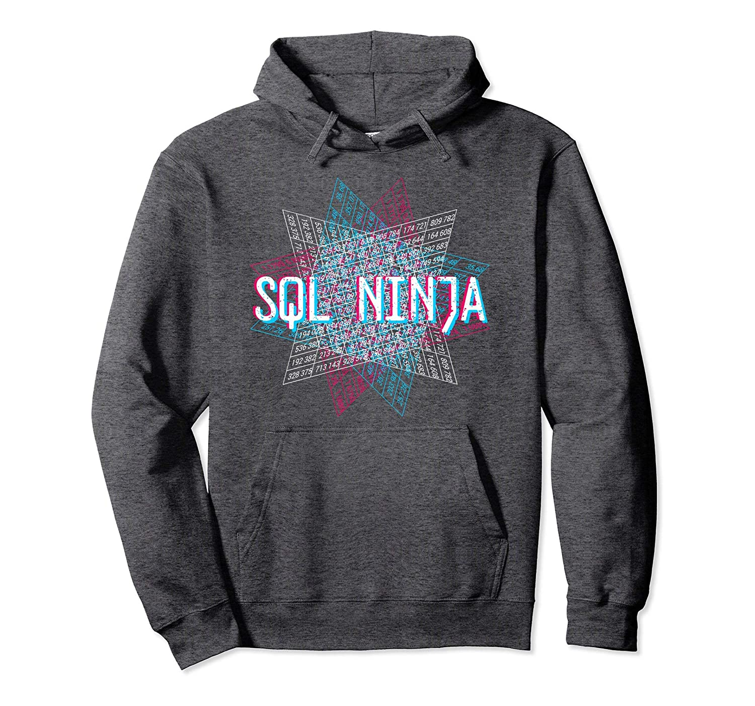 Amazon com: SQL Ninja Funny Database Admin Shirt Data Geek