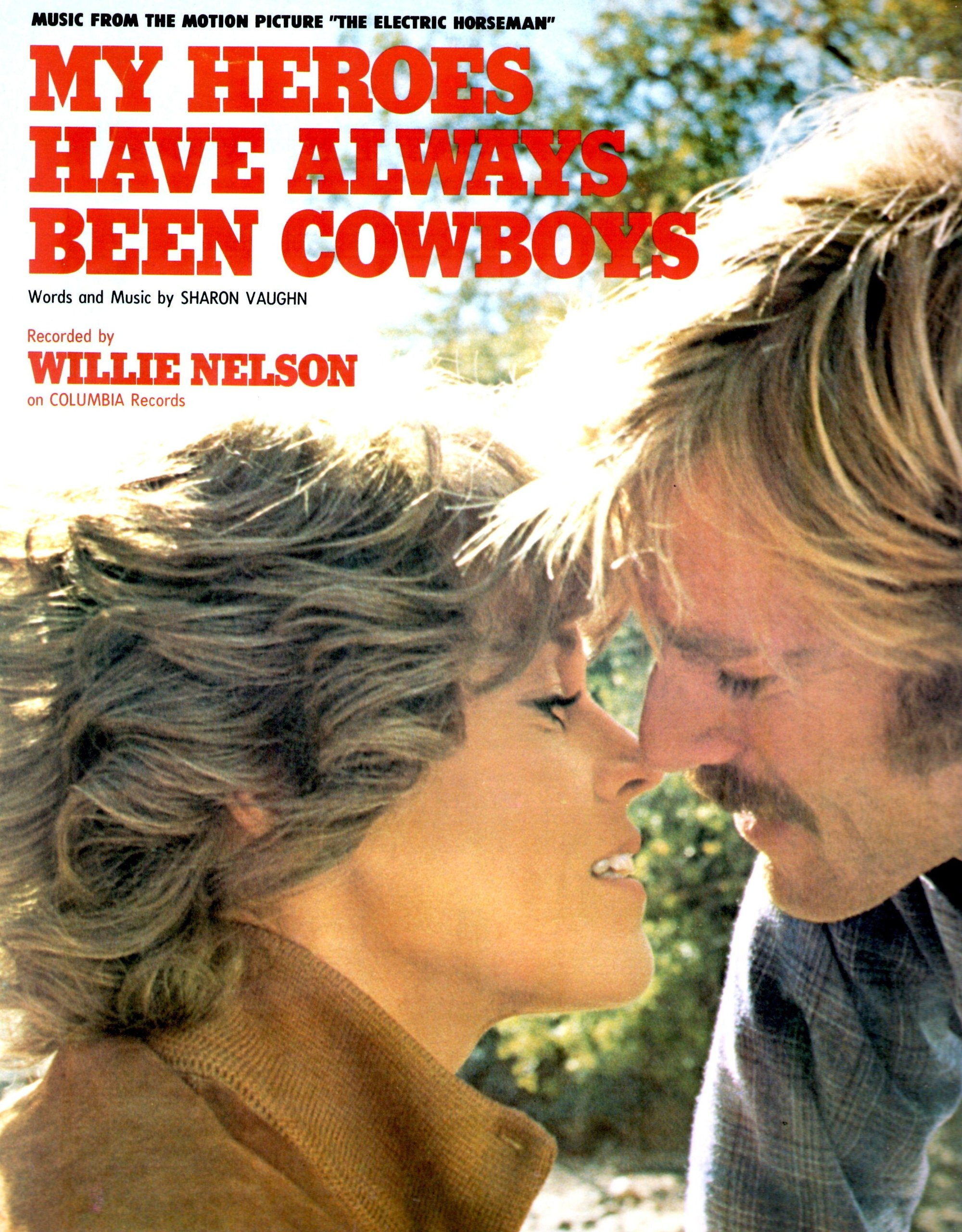 Robert Redford And Jane Fonda The Electric Horseman Movie Sheet Music Sharon Vaughn Amazon Com Books
