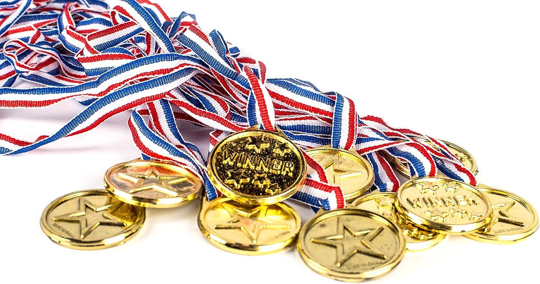 Amazon.com: Neliblu - Juego de 24 medallas olímpicas de ...