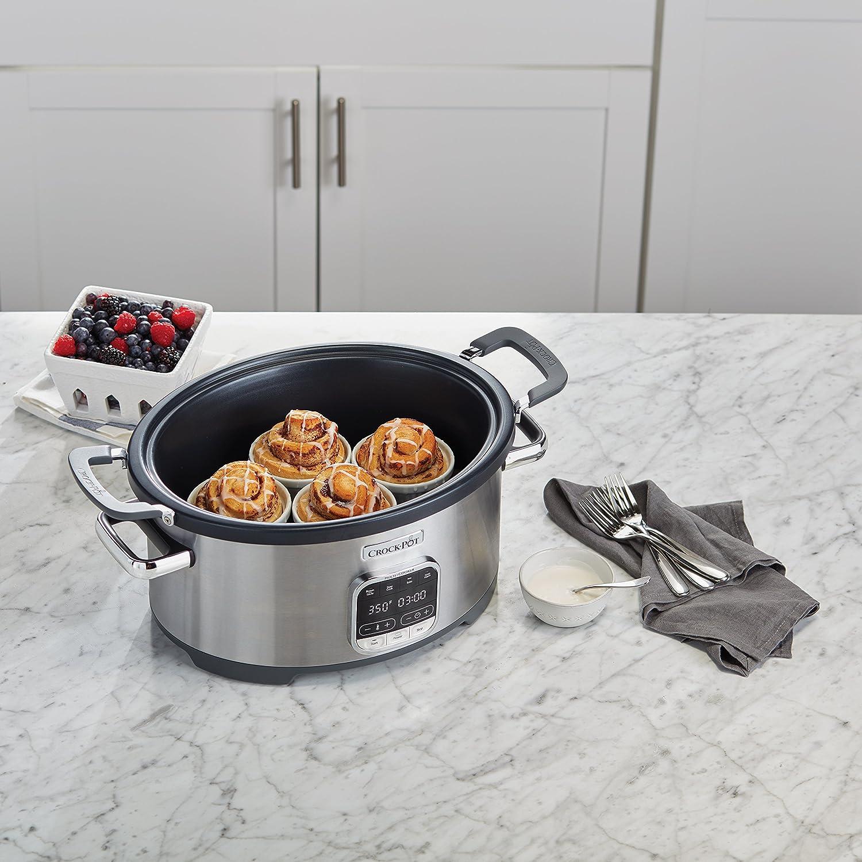 Stainless Steel Crock-Pot SCCPVMC63-SJ 3-in-1 Multi-Cooker