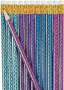 Fun Express - Mermaid Pencil - Stationery - Pencils - Pencils - Printed - 24 Pieces