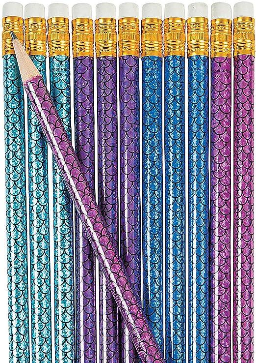 48 Pencils Fun Express Tie-Dyed Pencils