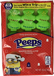 product image for Peeps Marshmallow Christmas Tree Holiday Candy, 3 3/8 oz, Pack of 3