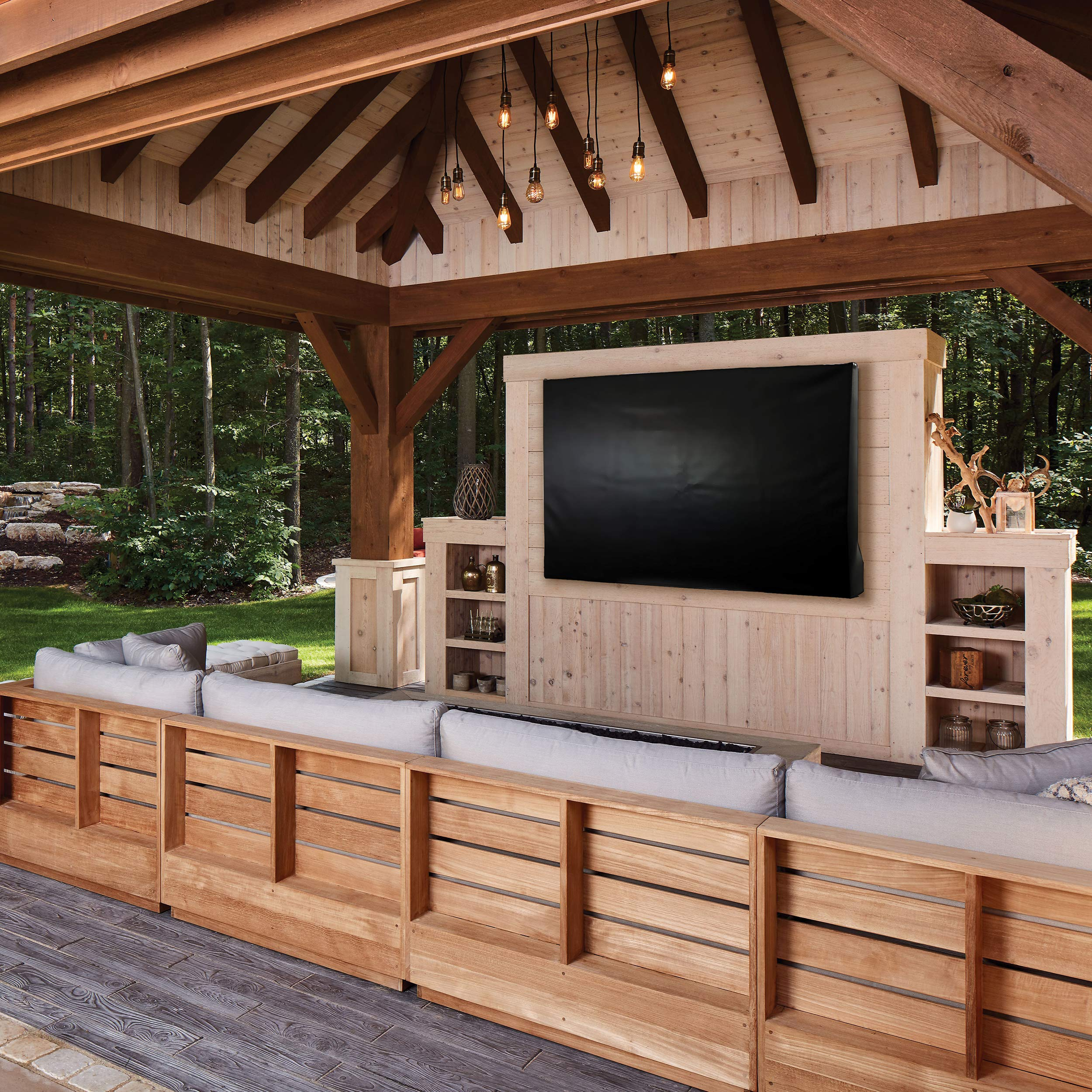 Séura Shade Series Outdoor TV Cover (for 55-inch Séura Shade Series TV with Soundbar) by Séura (Image #4)