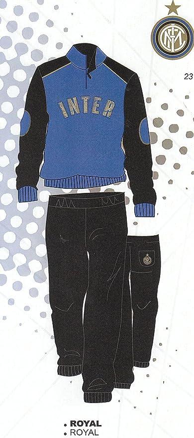 Pijama Chándal Inter oficial Felpato niño niño años 16 14, Royal ...