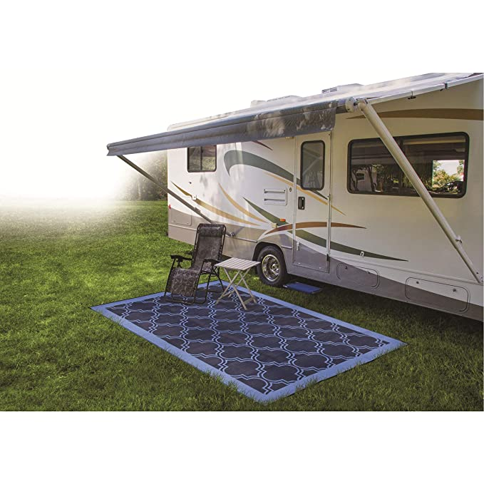 Amazon Com Camco Large Reversible Outdoor Patio Mat Mold And