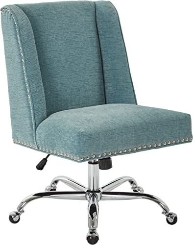 OSP Home Furnishings Alyson Chrome Base Adjustable Managers Chair