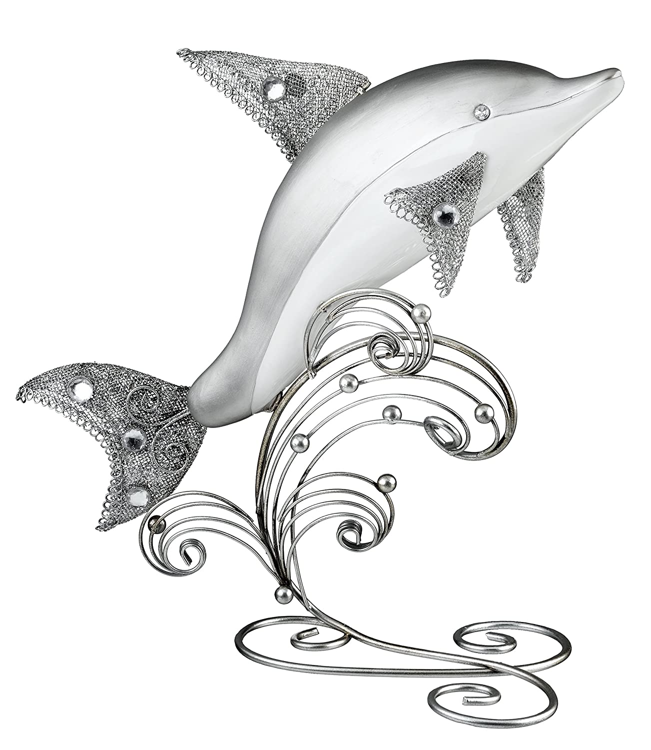 Stunning Dolphin Table Decoration