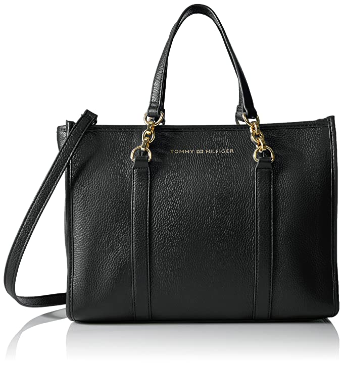 Cross-border:- Tommy Hilfiger Emilia Leather Shopper low price