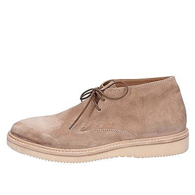 42 Cuir Boots Desert Eu Homme Moma Blanc BeroxQCdW