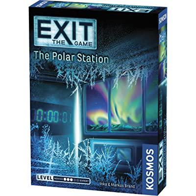 Thames & Kosmos 692865 Exit: The Polar Station | Exit: The Game - A Kosmos Game | Family-Friendly, Card-Based at-Home Escape Room Experience for 1 to 4 Players, Ages 12+: Toys & Games