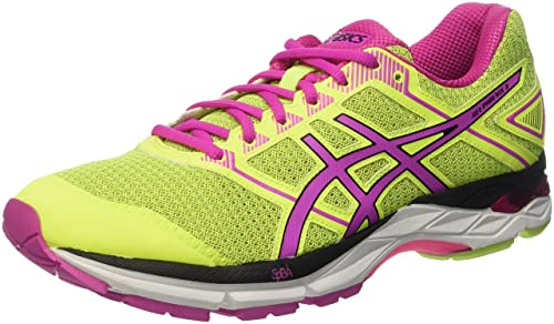 21daa410e0d4 ASICS Women s Gel-Phoenix 8 Gymnastics Shoes Yellow  Amazon.co.uk ...