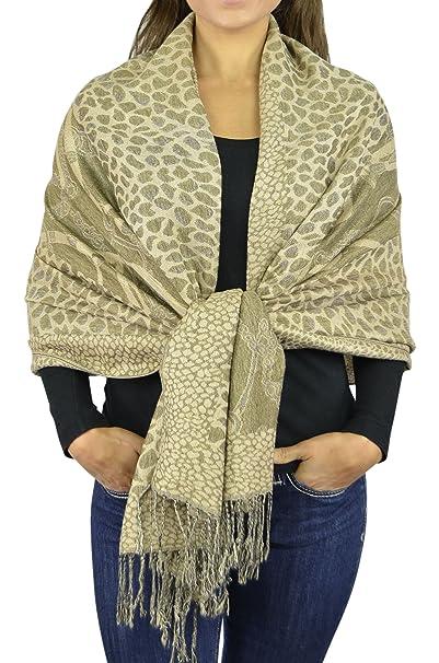 Pashmina Scarf Women Scarfs Soft Wrap Shawl Animal Print  Zebra Leopard  Giraffe Scarves By Belle 6caaee53b