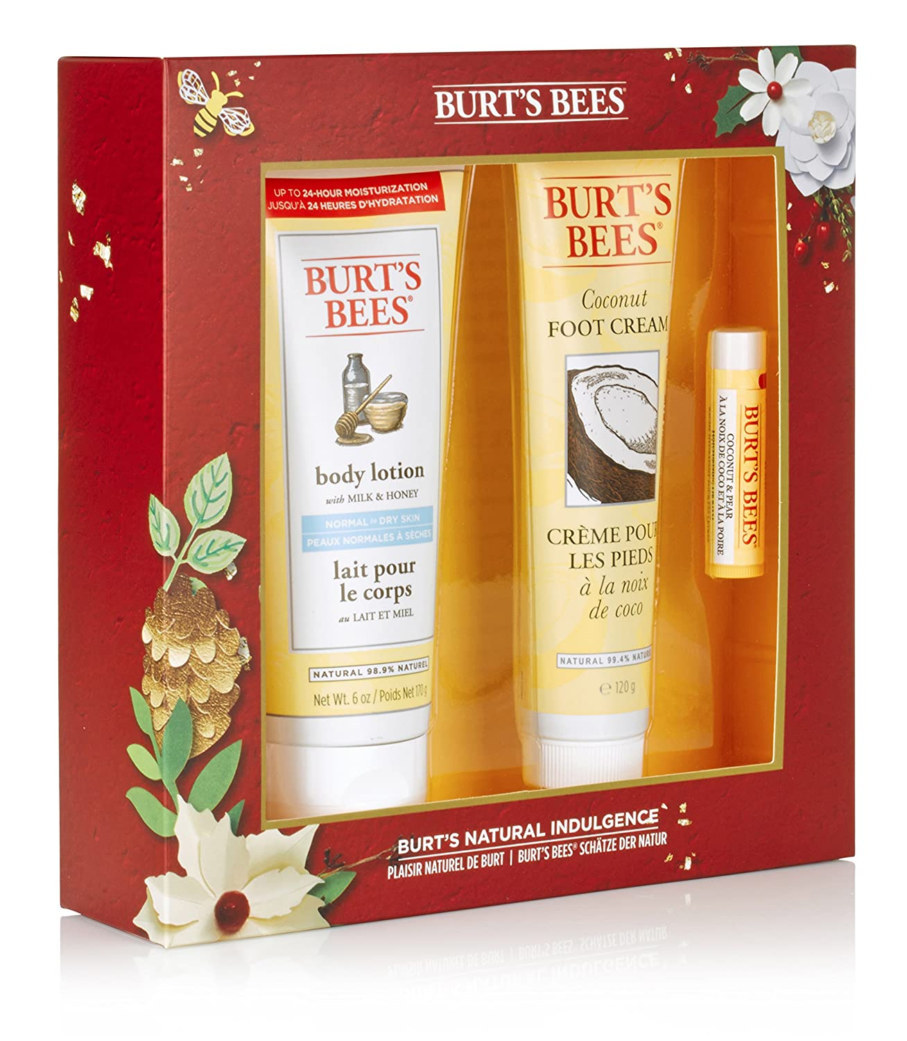 Burt's Bees Natural Indulgence Gift Set Cbee Europe Ltd 21244-14