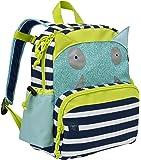 Lässig Mini Sac à Dos Bouncing Bob, Navy Turquoise -Sac à dos enfants – pour la maternelle ou en excursion
