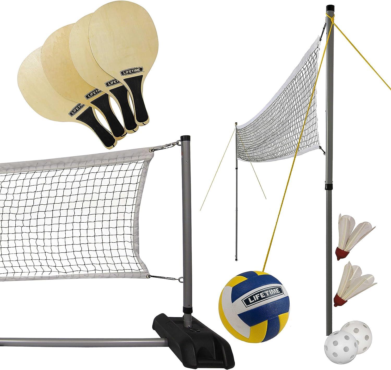 Lifetime Sports Net 3 en 1 Voleibol / Bádminton / Pickleball ...