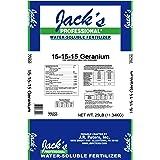 JR Peters  77020 Jack's Professional Geranium 15-15-15 Fertilizer, 25 lb