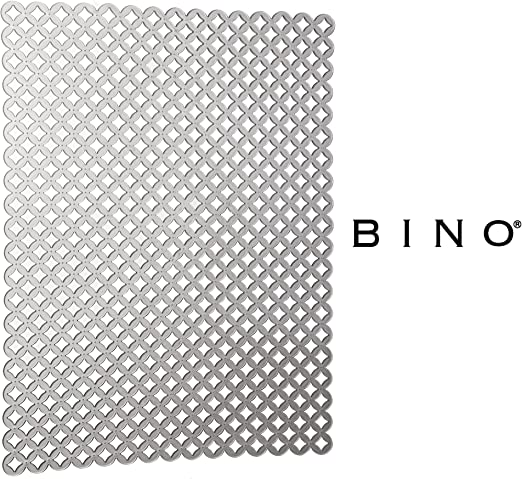 Amazon Com Bino Anti Bacterial Kitchen Sink Protector Mat Grey